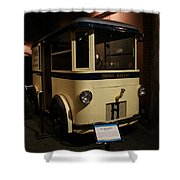 1931 Helms Bakery Truck Shower Curtain