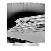 1931 Marmon Sixteen Coupe Hood Ornament 3 Shower Curtain