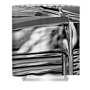 1931 Marmon Sixteen Coupe Hood Ornament 4 Shower Curtain