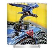 1932 Alvis Hood Ornament Shower Curtain