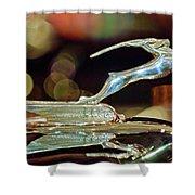 1932 Chrysler Imperial Hood Ornament 1 Shower Curtain