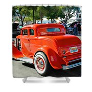 1932 Ford  5 Window Coupe Shower Curtain