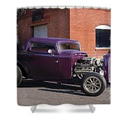 1932 Ford 'grape Soda' Coupe Shower Curtain