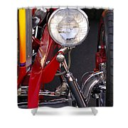 1932 Ford Hi-boy Roadster Headlight Shower Curtain