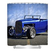 1932 Ford Hiboy Roadster Tdo II Shower Curtain