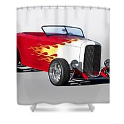 1932 Ford 'hot Stuff' Roadster Shower Curtain