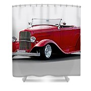 1932 Ford 'love Child' Roadster Shower Curtain