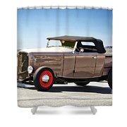 1932 Ford 'original Rod' Roadster Pickup Shower Curtain