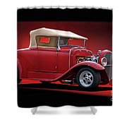 1932 Ford 'rag Top' Roadster Shower Curtain