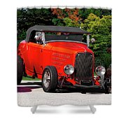 1932 Ford 'ragtop' Roadster Shower Curtain