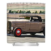 1932 Ford 'rare And Original' Roadster Pickup Shower Curtain