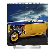 1932 Ford Roadster L Shower Curtain