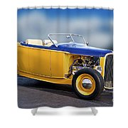 1932 Ford Roadster 'pass Side' L Shower Curtain