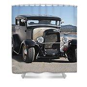 1932 Ford Tudor Sedan 'satin Doll' II Shower Curtain