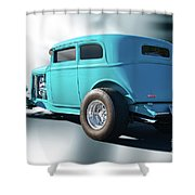 1932 Ford Victoria 3 Shower Curtain