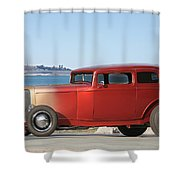 1932 Ford Victoria IIi Shower Curtain