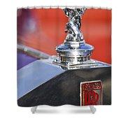 1932 Rolls-royce Hood Ornament 2 Shower Curtain
