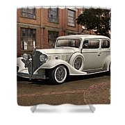 1933 Buick Victoria 'bootleg Beauty' Shower Curtain