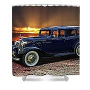 1933 Chevrolet 4 Door Eagle Sedan Shower Curtain