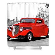 1933 Ford 'three Window' Coupe I Shower Curtain