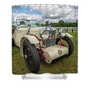 1933 Mg Sports Car Shower Curtain
