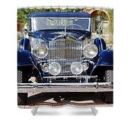 1933 Packard 12 Convertible Coupe Shower Curtain by Jill Reger