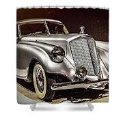 1933 Pierce-arrow Silver Arrow Shower Curtain