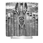 1934 Chrysler Airflow Hood Ornament Shower Curtain