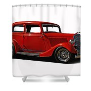 1934 Ford 2 Door Sedan Shower Curtain