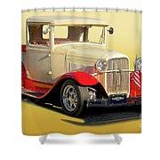 1934 Ford '49'er' Pickup Shower Curtain