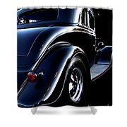 1934 Ford Coupe Rear Shower Curtain