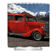 1934 Ford  Shower Curtain