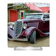 1934 Ford Roadster Hot Rod Shower Curtain