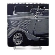 1934 Ford Roadster Shower Curtain