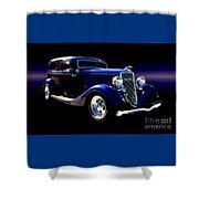 1934 Ford Tudor Sedan Shower Curtain