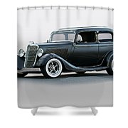 1934 Ford 'victoria' Coupe Shower Curtain