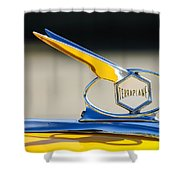 1934 Terraplane Hood Ornament Shower Curtain