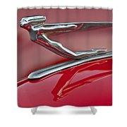 1935 Auburn Hood Ornament 2 Shower Curtain