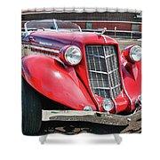 1935 Auburn Speedster 6870 Shower Curtain