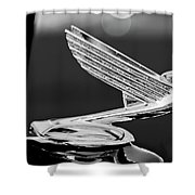 1935 Chevrolet Hood Ornament 4 Shower Curtain