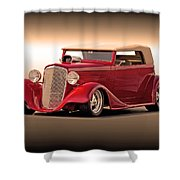 1935 Chevrolet Phaeton 3q Driver Side Shower Curtain