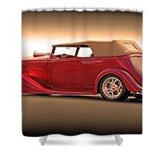 1935 Chevrolet Phaeton II  Shower Curtain