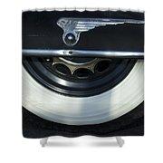 1935 Chrysler Tire Shower Curtain
