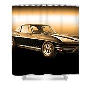1965 Corvette Stingray Shower Curtain