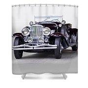 1935 Duesenberg Sj Roadster Shower Curtain