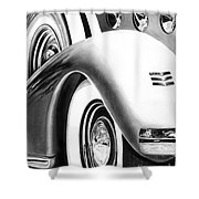 1935 Lasalle Abstract Shower Curtain