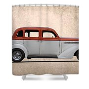 1935 Plymouth Shower Curtain