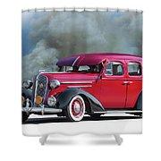 1936 Chevrolet Master Deluxe Sedan Shower Curtain