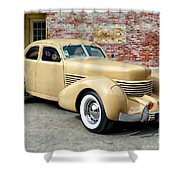 1936 Cord Shower Curtain