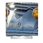 1936 Cord Phaeton Headlights Shower Curtain